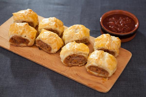 Merna's sausage rolls - Stephanie Alexander