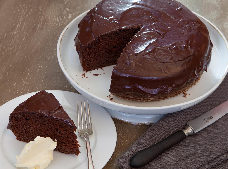 Diana S Fudgy Chocolate Cake Recipe Stephanie Alexander