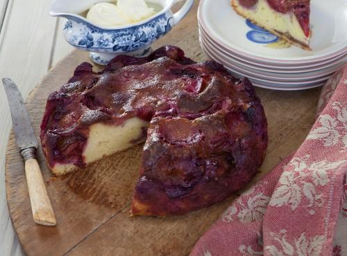 Mieze's plum cake