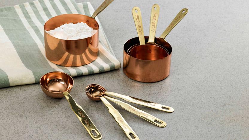 Measuring Spoons $29.99, Measuring Cups $39.99