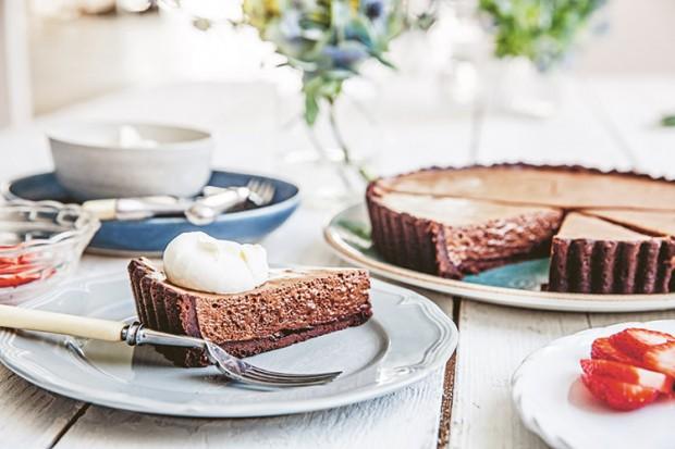 The Cook's Table | Stephanie Alexander | Chocolate Tart