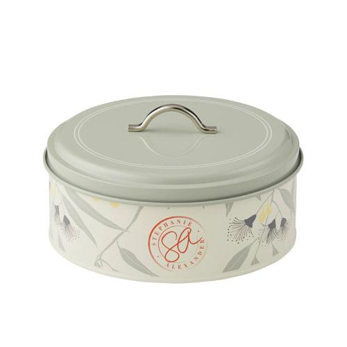 Round Cake Storage Tin Small