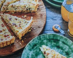 Parsley & Ham Tart | Stephanie Alexander
