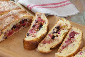 Rhubarb Yeast Cake